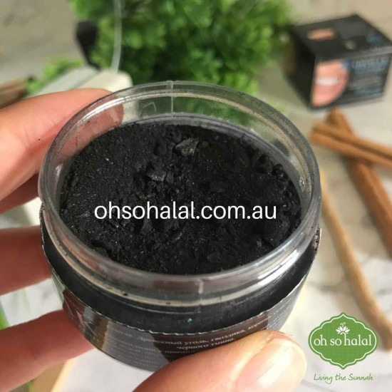 Charcoal Miswak Powder with Black Seeds