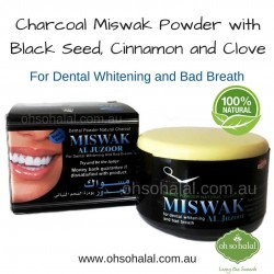 Charcoal Miswak Powder with Black Seeds (Past Expiry Date)