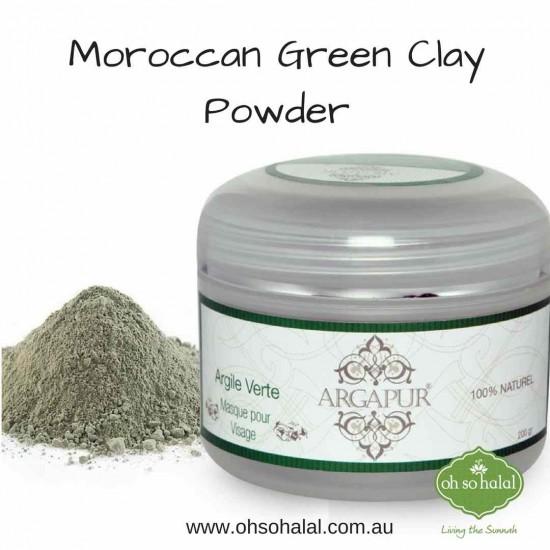 Moroccan Ghassoul Green Clay Powder
