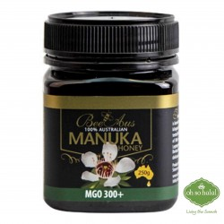Bee Aus 100% Australian Manuka Honey MGO 300+