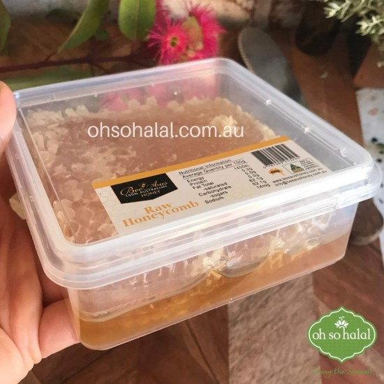 Bee Aus 100% Australian Raw Honeycomb 400g