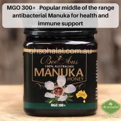Bee Aus 100% Australian Manuka Honey MGO 300+