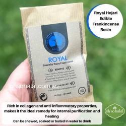 Frankincense Edible Resin - Royal Hojari 25g