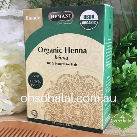Hemani Organic Henna Hair Colour