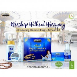 Hemani Fragrance Free Hajj & Umrah Kit (6 in 1 Pack)