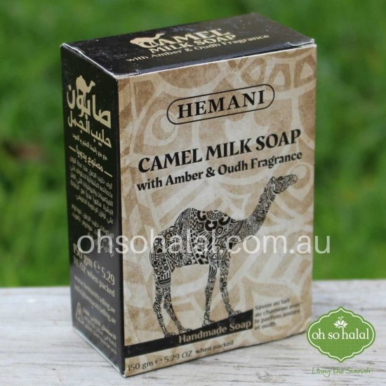 Camel Milk Soap with Amber & Oudh Fragrance
