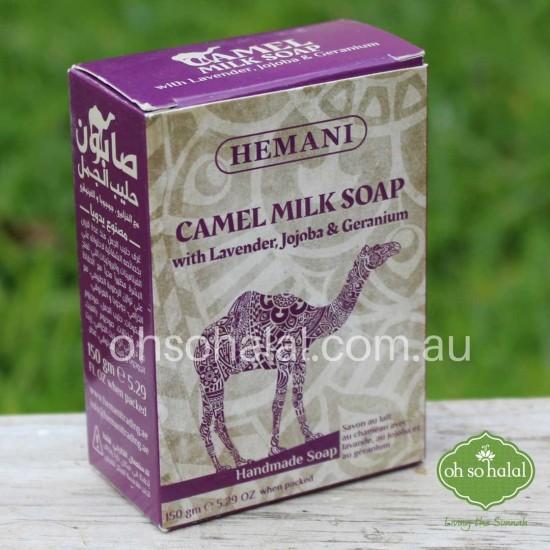 Camel Milk Soap with Lavender, Jojoba, and Geranium