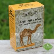 Camel Milk Soap with Orange and Lemongrass