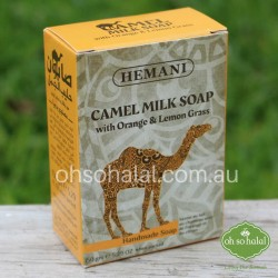 Camel Milk Soap with Orange and Lemongrass