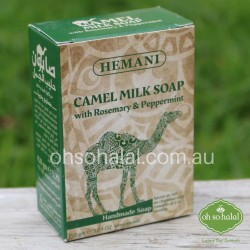 Camel Milk Soap with Rosemary and Peppermint