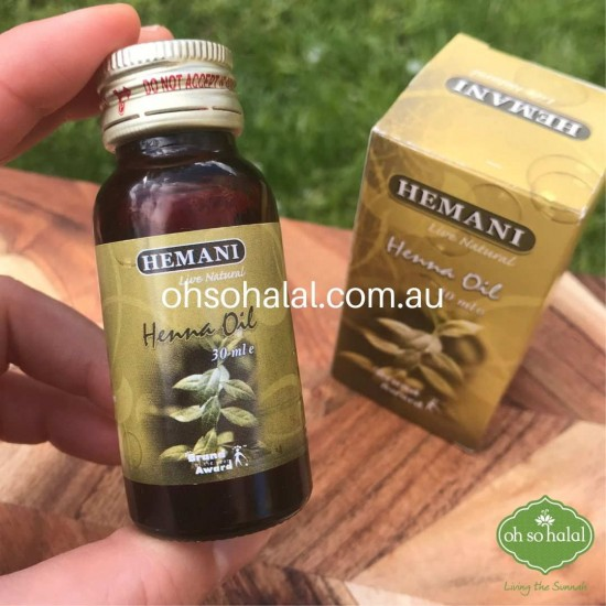 Henna Oil Blended with Olive Oil (Past Expiration Date)