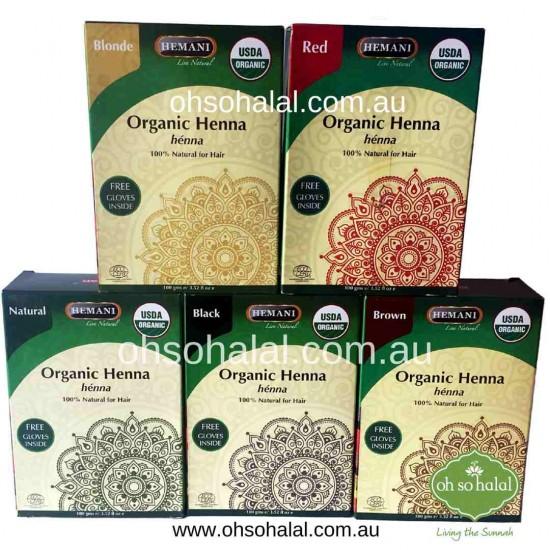 Hemani Organic Henna Hair Colour