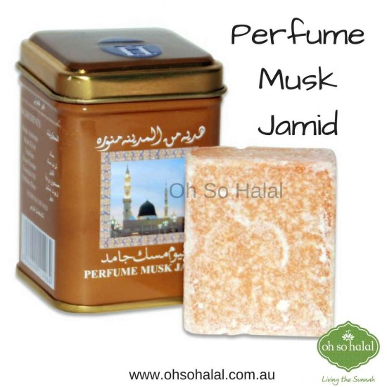 Hemani Perfume Musk Jamid in Tin