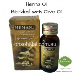 Henna Oil Blended with Olive Oil