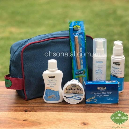 Hemani Fragrance Free Hajj & Umrah Kit (6 in 1 Pack)