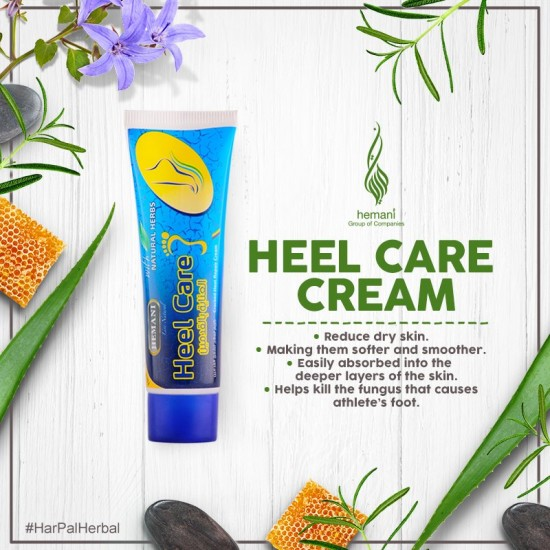 Hemani Heel Care with Natural Herbs - 50g (Past Expiry Date)