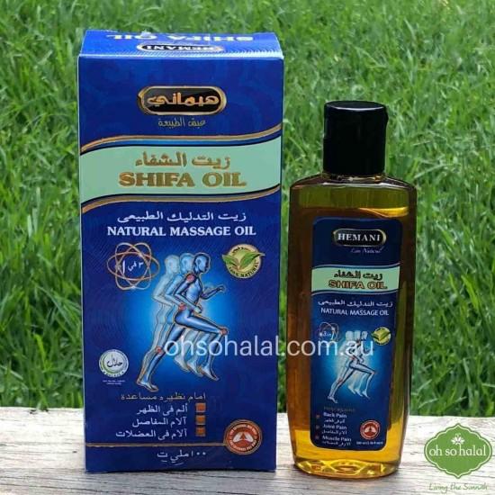 Hemani Shifa Oil - 3 in 1 Natural Massage Oil