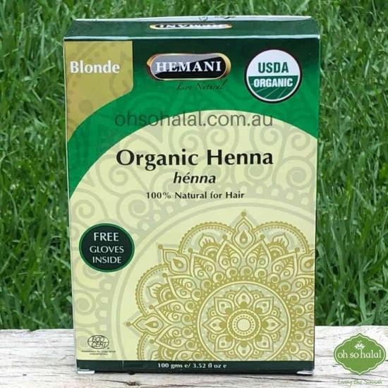 Blonde Organic Henna Hair Colour