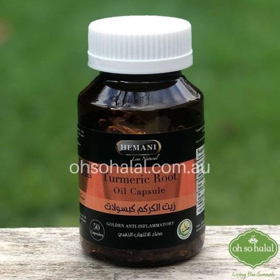 Turmeric Root Oil Capsule
