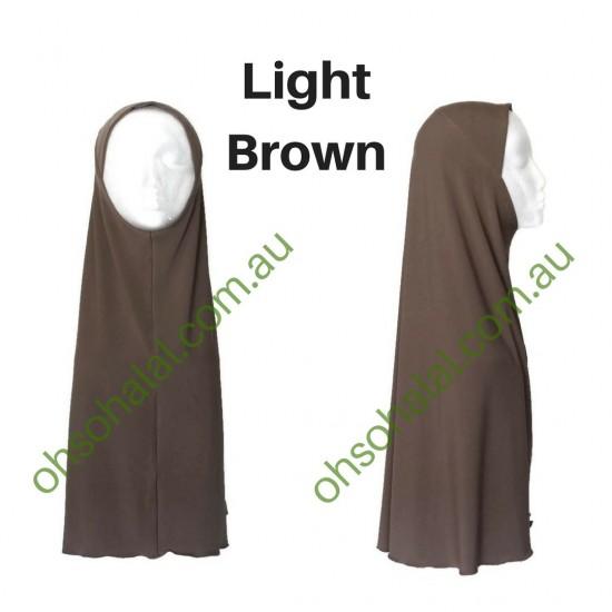 One Piece Slip-On Lycra Hijab