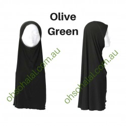 One Piece Slip-On Lycra Hijab