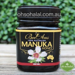 Bee Aus 100% Australian Manuka Honey MGO 500+