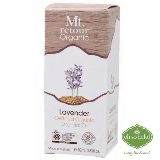 Mt Retour Organic Lavender Essential Oil - 10ml