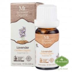 MT RETOUR Organic Lavender Essential Oil (100%) - 10ml