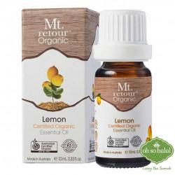 Mt Retour Organic Lemon Essential Oil