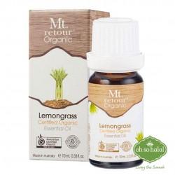 Mt Retour Organic Lemongrass Essential Oil - 10ml