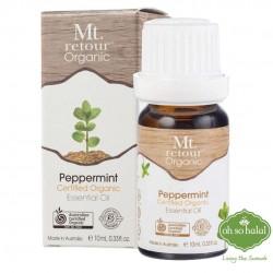 Mt Retour Organic Peppermint Essential Oil