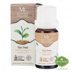 MT RETOUR Organic Tea Tree Essential Oil (100%) - 10ml