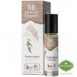 Mt Retour Organic Breathe Better Roll On Blend