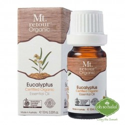 Mt Retour Organic Eucalyptus Essential Oil- 10ml