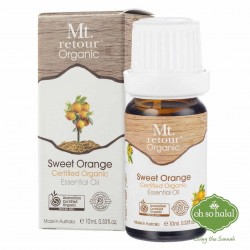 Mt Retour Organic Sweet Orange Essential Oil