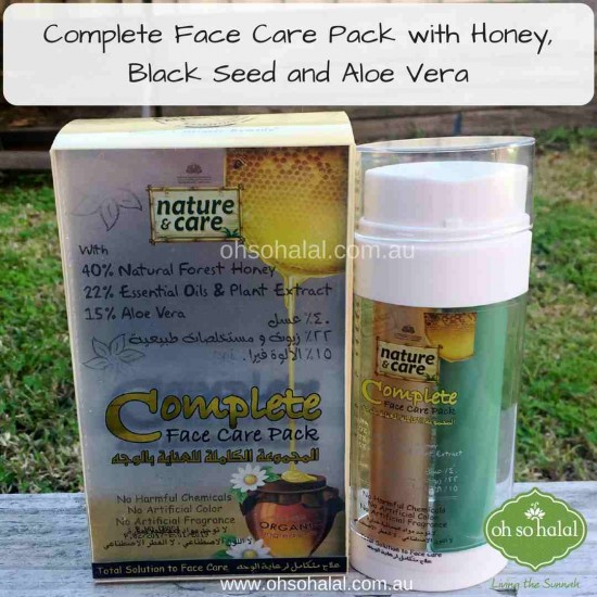 Nature and Care Complete Face Care Pack