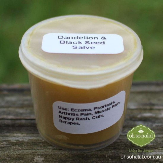 Dandelion and Black Seed Oil Salve