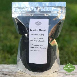 Whole Black Seeds 450g