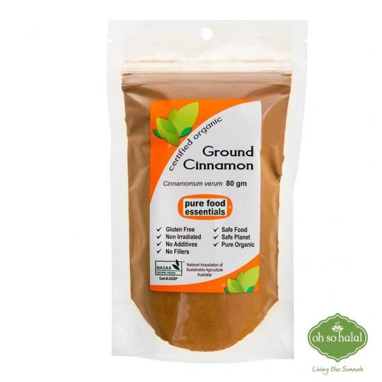 Ground Cinnamon Powder - 80 gm