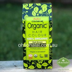 Radico Colour Me Organic – Henna Hair Colour Powder – Dark Brown 100g