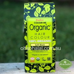 Radico Colour Me Organic – Henna Hair Colour Powder - Soft Black 100g
