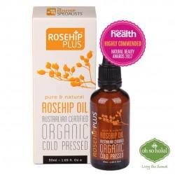 ROSEHIPPLUS® AUSTRALIAN CERTIFIED ORGANIC ROSEHIP OIL – 50ML