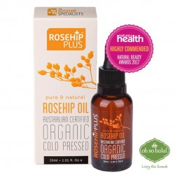 ROSEHIPPLUS® AUSTRALIAN CERTIFIED ORGANIC ROSEHIP OIL – 30ML