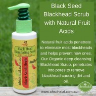 Natural Blackhead Eliminating Scrub - 120ml