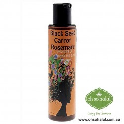 Black Seed Rosemary Carrot Nourishing Hair Oil