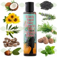 Black Seed Hair Growth Oil Formula Blend