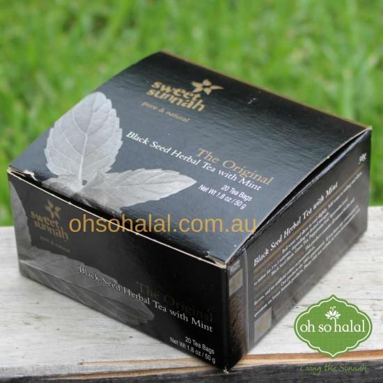 Black Seed Herbal Mint Tea 20 Bags