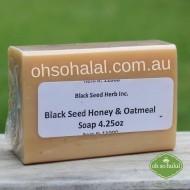 Black Seed Honey and Oatmeal Soap - 120g