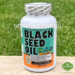 Black Seed Oil - 90 Softgel Capsules