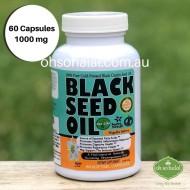 Black Seed Oil - 60 Softgel Capsules 1000mg
